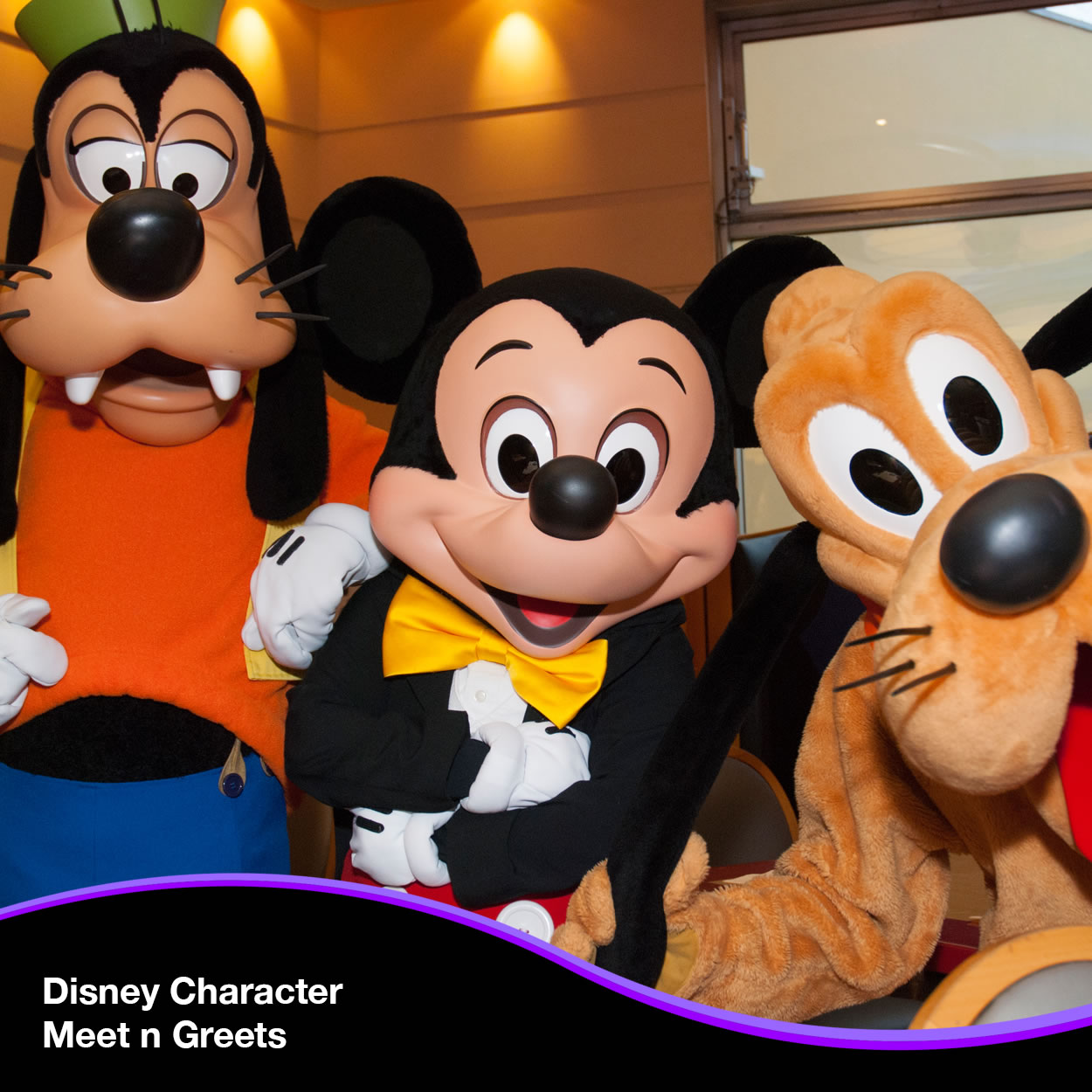Disney® Character Meet and Greets